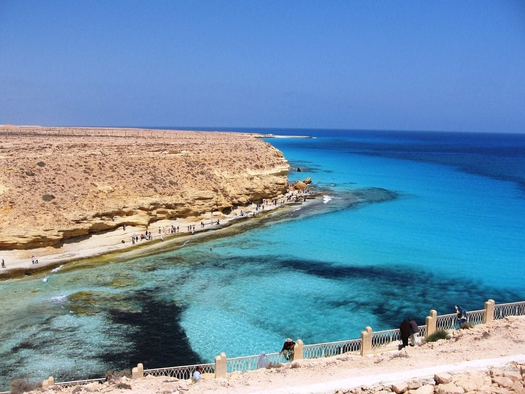 شاطئ شرم اللولي sharm el-loly in marsa alam